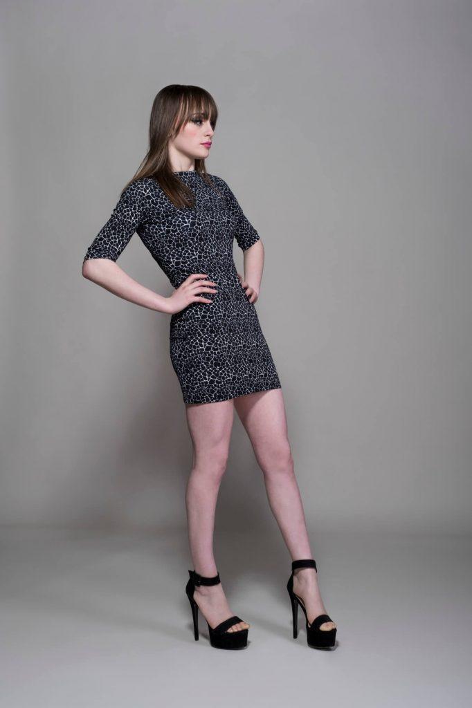 The Black Giraffe Short Dress